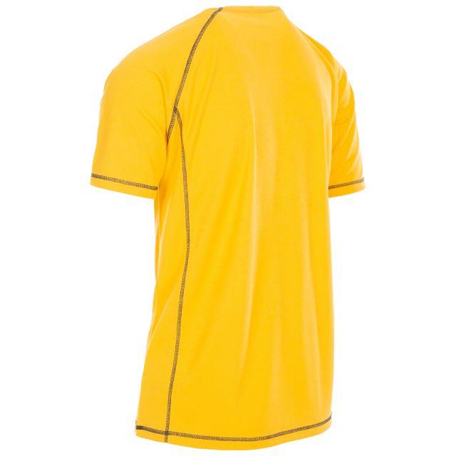 Trespass Men's Quick Dry Active T-Shirt Albert Yellow