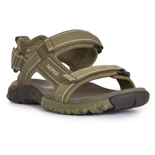Alderley Men's Walking Sandals in Khaki