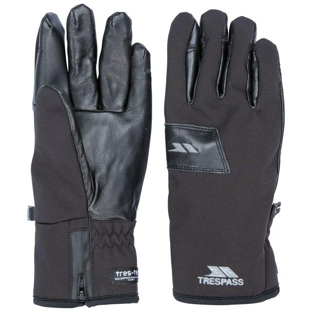 Trespass Adults Waterproof Gloves in Black Alpini