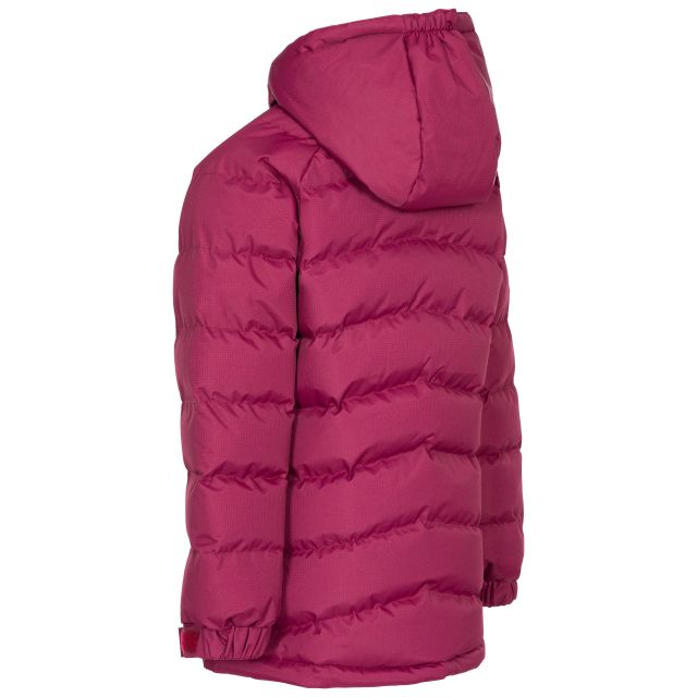 Trespass Kids Padded Casual Jacket in Red Amira