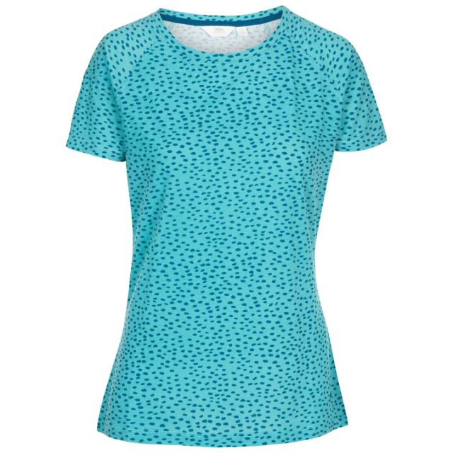 Ani Women's Printed T-Shirt Apple, Front view on mannequin