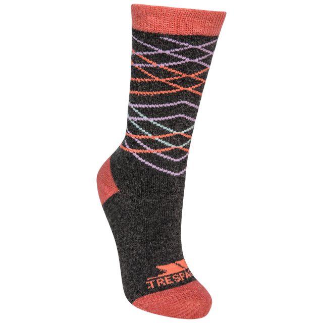 Annika Women's Casual Walking Socks in Grey