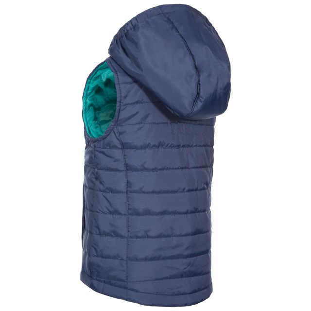 Trespass Kids Casual Gilet in Navy Aretha