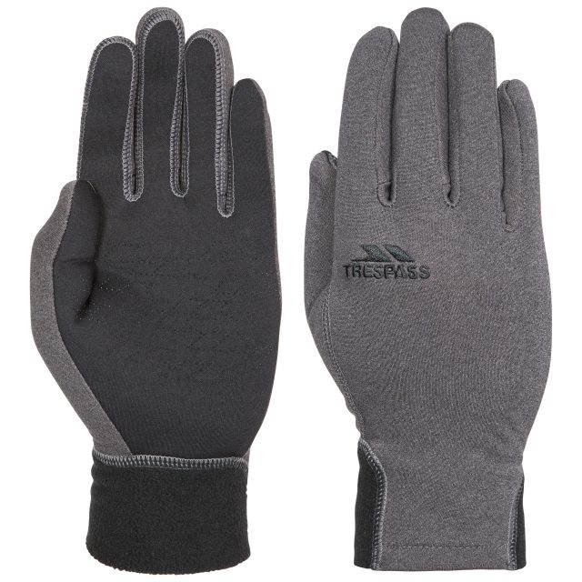 Trespass Adults Gloves in Grey Atherton