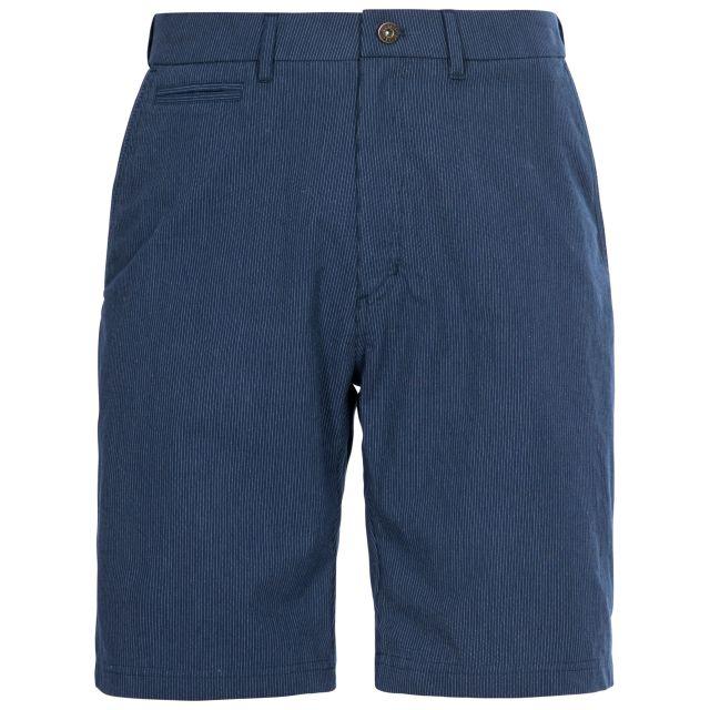 Atom Men's Shorts in Navy, Front view on mannequin