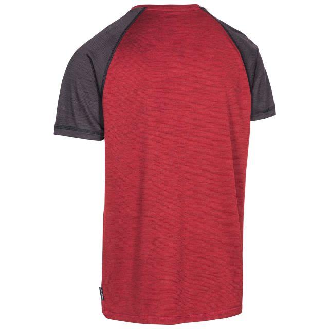 Bagbruff Men's Active T-Shirt in Red