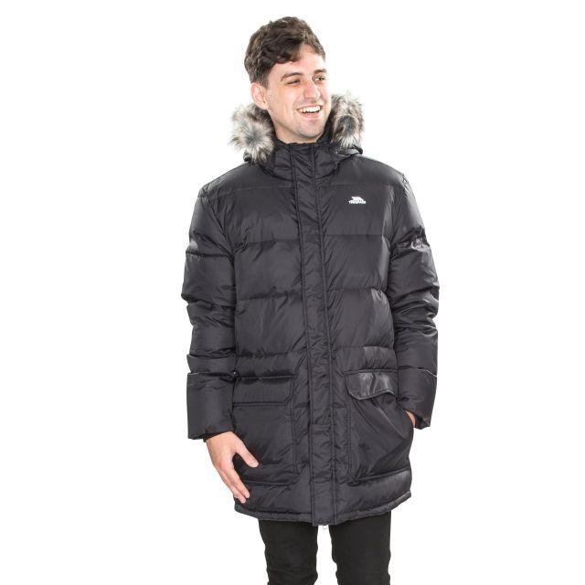 Baird Men's Down Parka Jacket - BLK