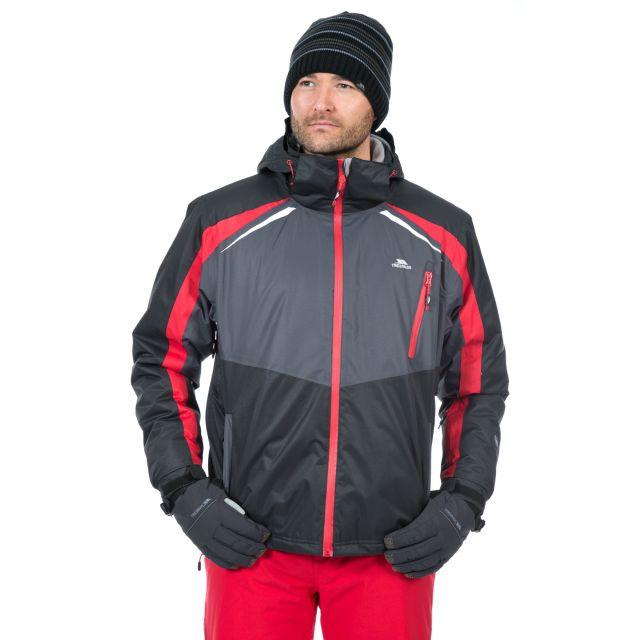 Bakersfield Mens Ski Jacket in Black