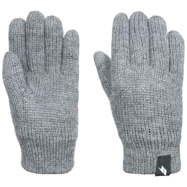 Bargo Kids' Knitted Gloves in Light Grey