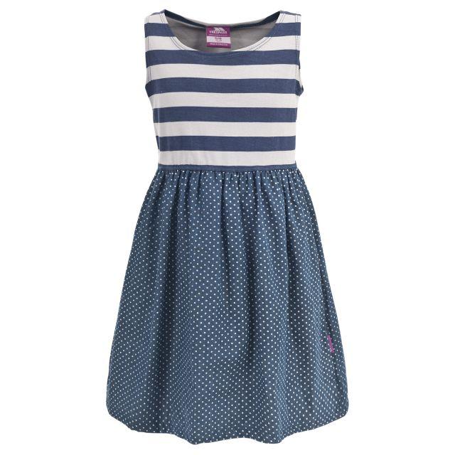 Trespass Girls Summer Dress in Blue Beads
