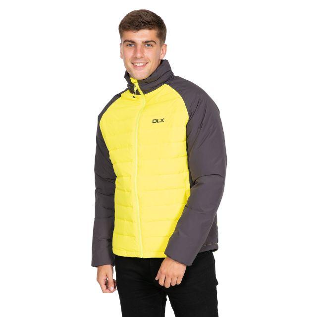 Benko Men's DLX Down Jacket in Neon Green