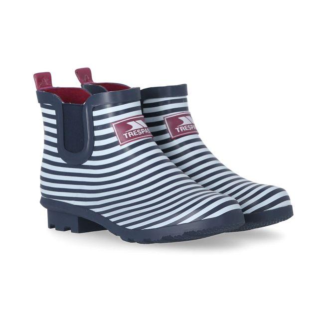 Women's Waterproof Ankle Wellies in Navy