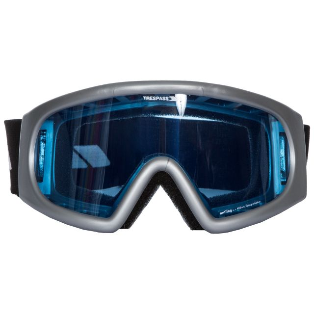 Bigbury - Single Lens Goggles in Light Grey, Front view