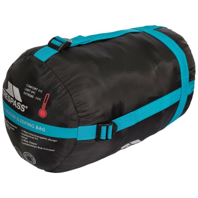 BIPOD - 2 WAY SLEEPING BAG in Black