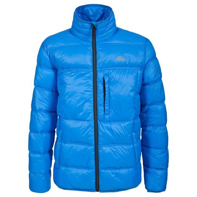 Bismarck Men's Padded Casual Jacket in Blue