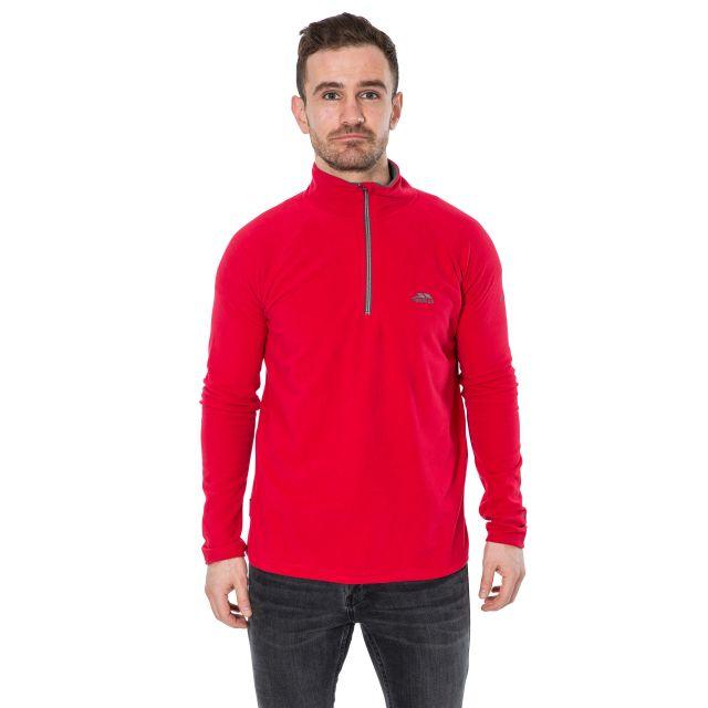 Blackford Men's 1/2 Zip Microfleece in Red