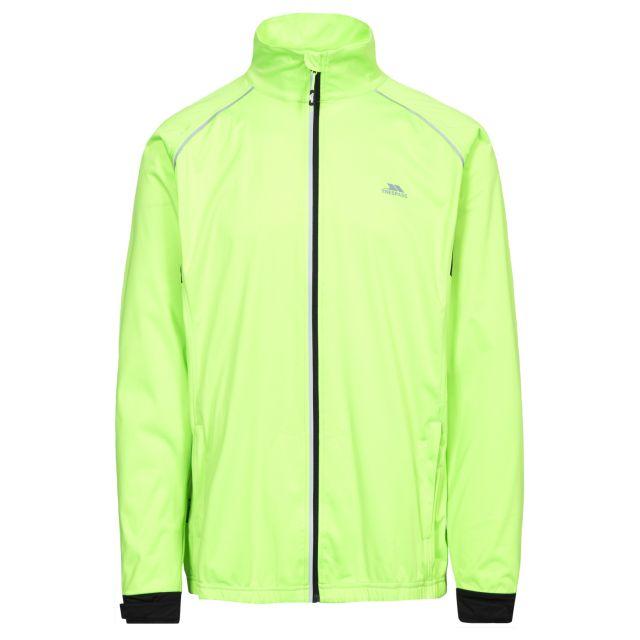 Blocker Men's Waterproof Active Jacket in Neon Green