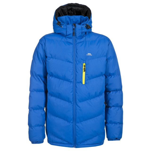 Blustery Men's Padded Casual Jacket in Blue