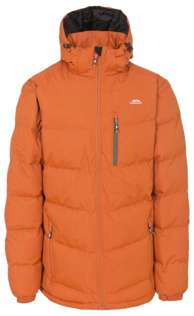 Blustery Men's Padded Casual Jacket in Orange
