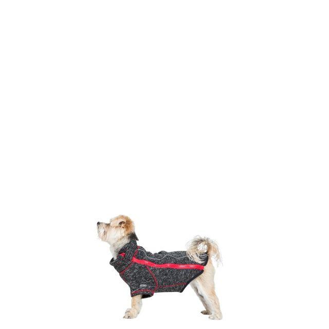 BOOMER - DOG FLEECE AT200 - BLACK MELANGE X XXS