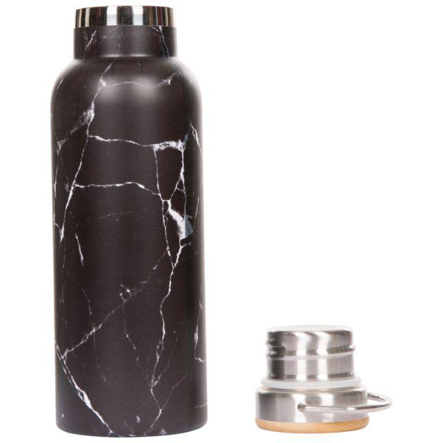 Trespass Thermal Flask Bottle Breen Black