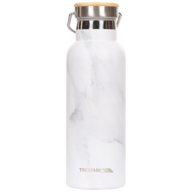 Trespass Thermal Flask Bottle Breen Stone, Front view