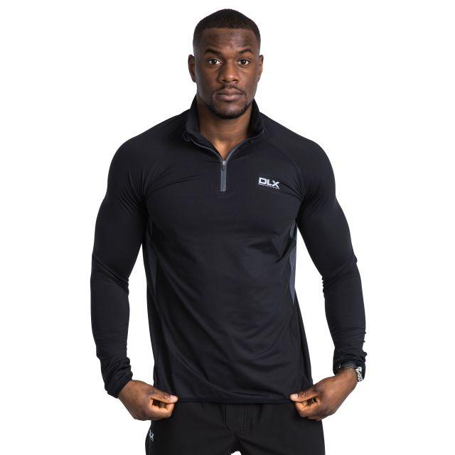 Brennen Men's DLX Active Top in Black