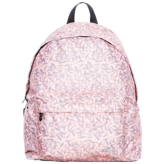 Britt Kids' Printed 16L Backpack in Light Pink, Front view