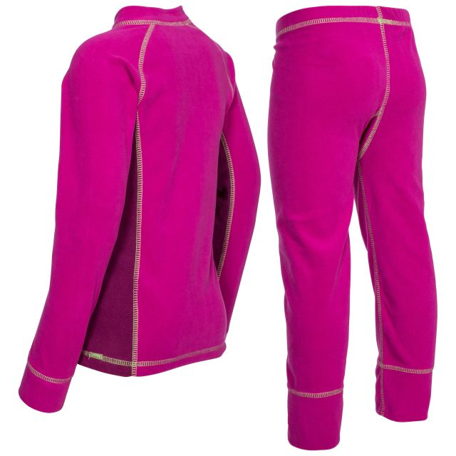 Bubbles Kids' Thermals in Pink