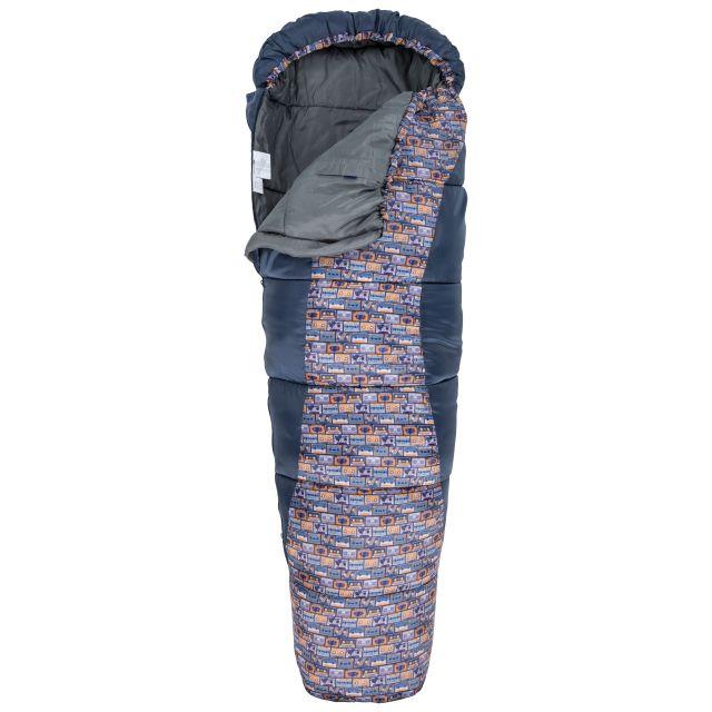 Trespass Kids Sleeping Bag 3 Season Lightweight Bunka Navy