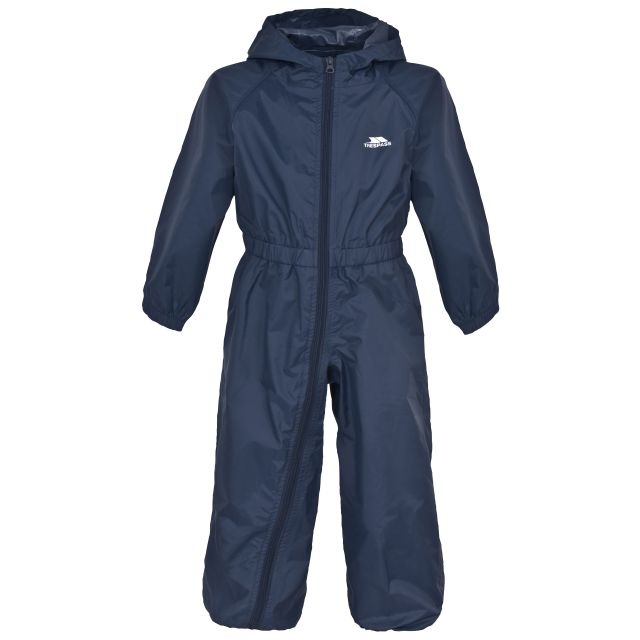 Button Babies' Rain Suit in Navy