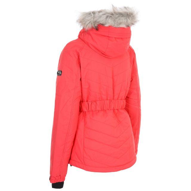 Trespass Womens Ski Jacket Waterproof Windproof Camila Hibiscus