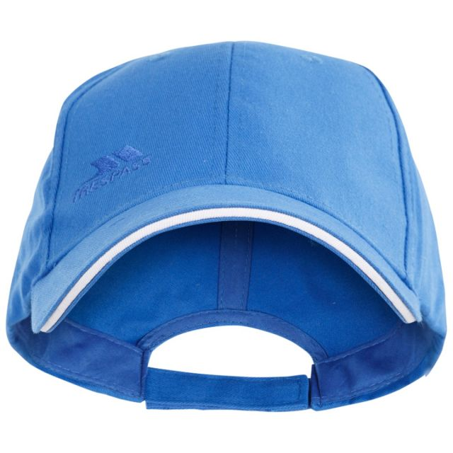 Trespass Adults Baseball Cap in Blue Carrigan