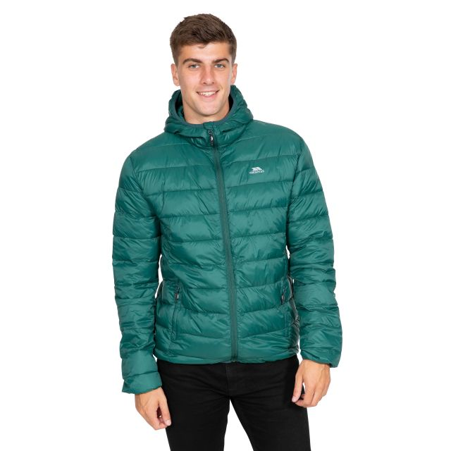 Carruthers Men's Padded Casual Jacket in Green