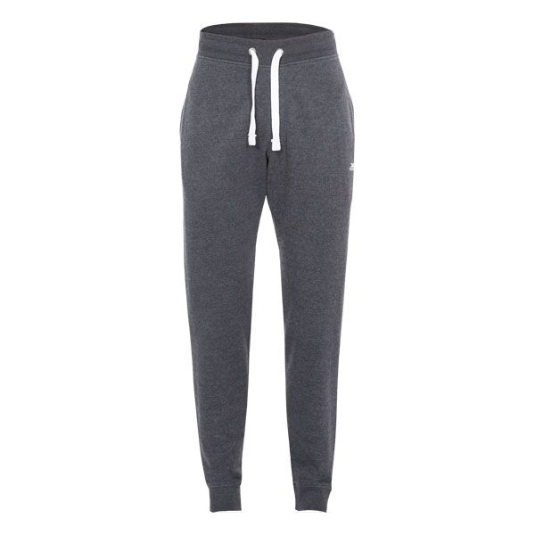 Carson Men's Tracksuit Bottoms in Grey, Front view on mannequin