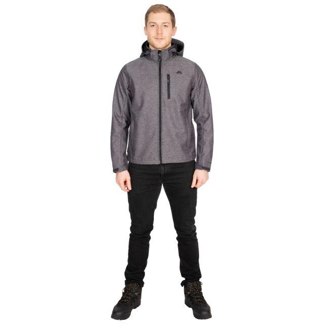 Carter Men's Softshell Jacket in Grey