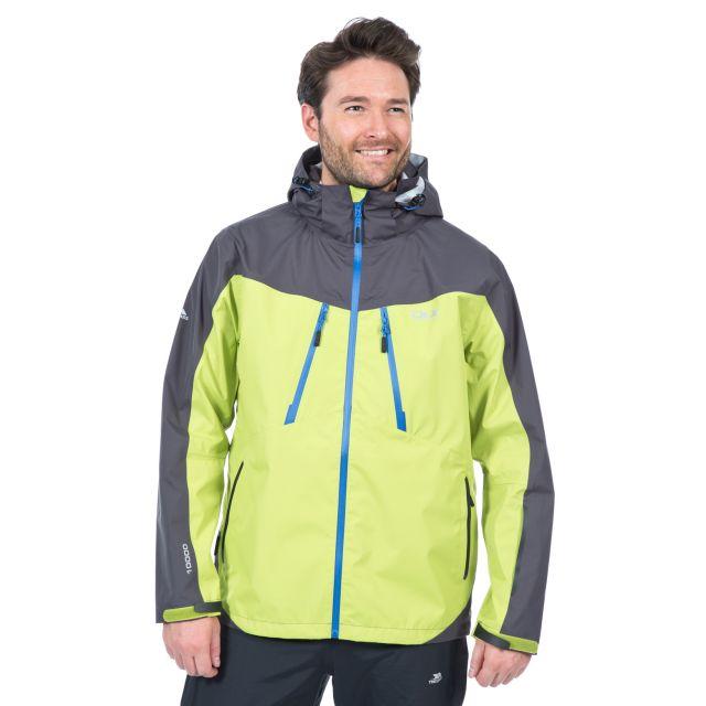 Cassius Men's DLX Waterproof Jacket in Orange