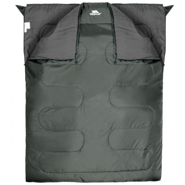 Catnap 3 Season Double Sleeping Bag in Khaki, Bag packed