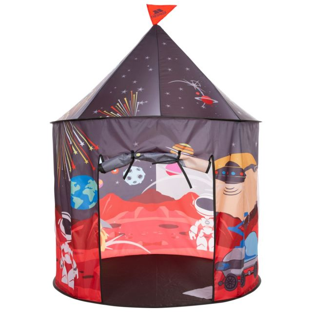 Kids' Indoor and Outdoor Play Tent in Space Print, Packed view