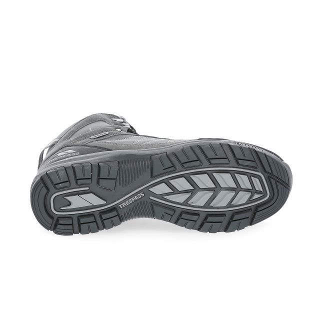 Chavez Men's Waterproof Walking Boots in Grey