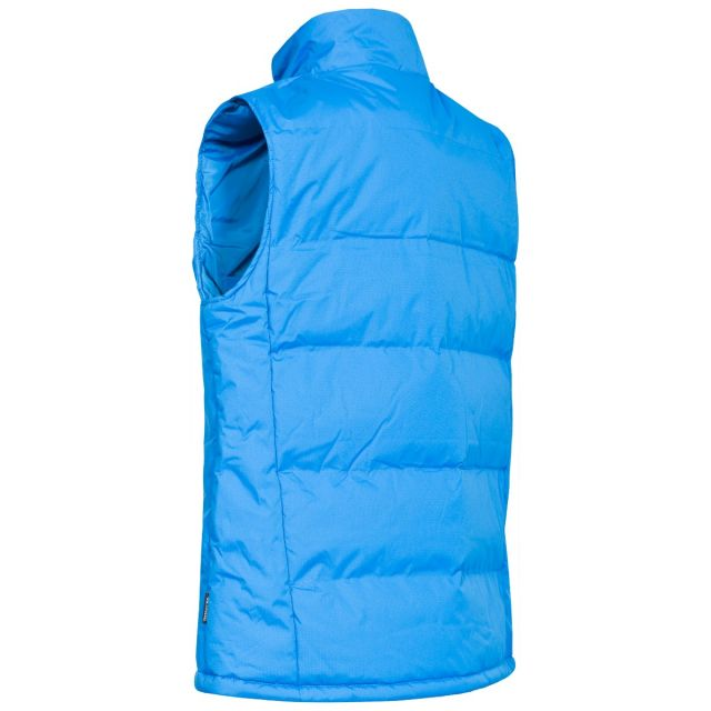 Clasp Men's Padded Gilet in Blue
