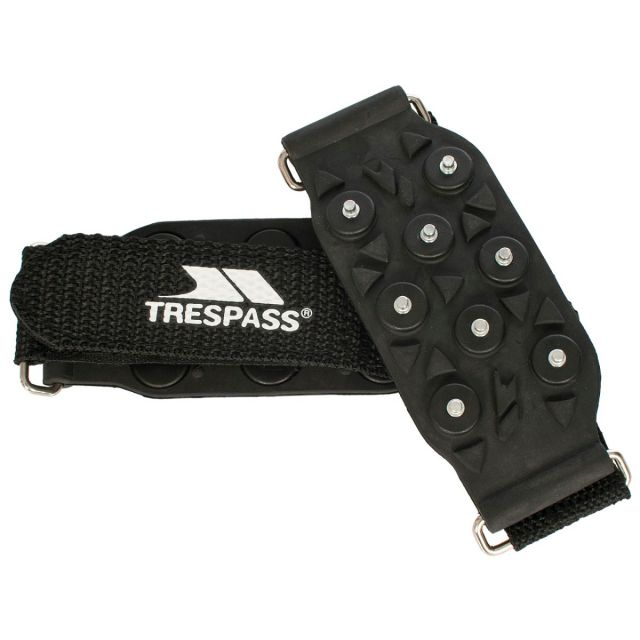 Ice Grip Shoe Traction Aids in Black