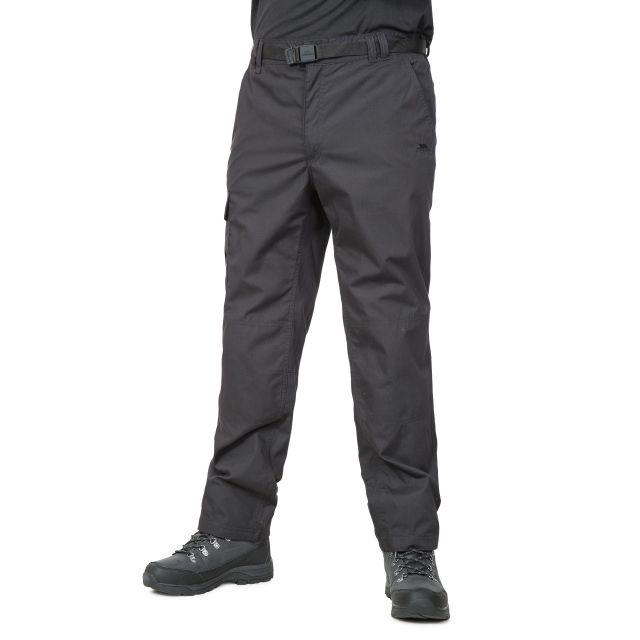 Clifton Men's Cargo Trousers in Black