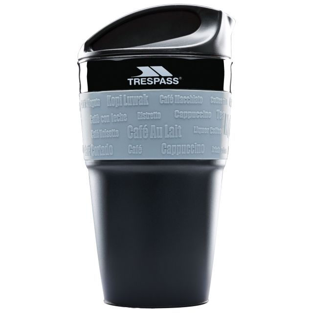 Collapsible Travel Mug in Black