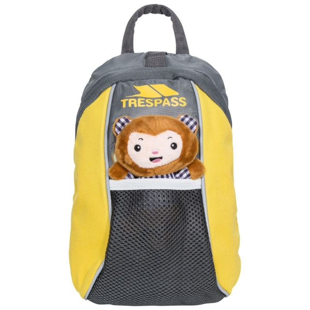 Cohort Babies' Yellow 5L Backpack with Reins - SSH, Back view