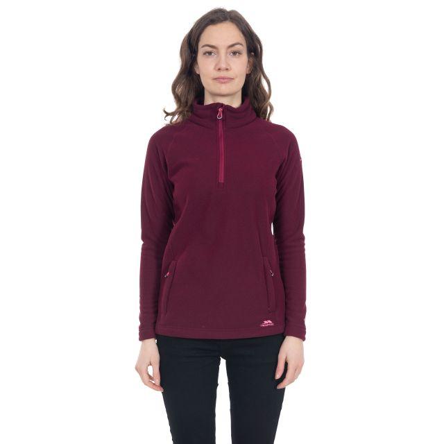 Commotion Women's 1/2 Zip Fleece in Purple