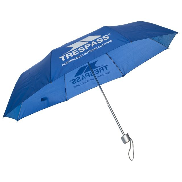 Blue Compact Umbrella in Blue