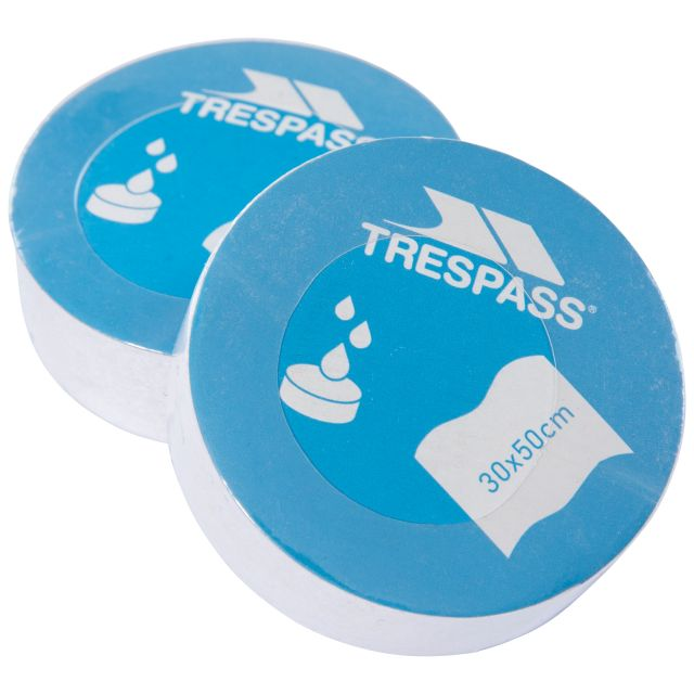 Compressed Towels - 2 Set in White