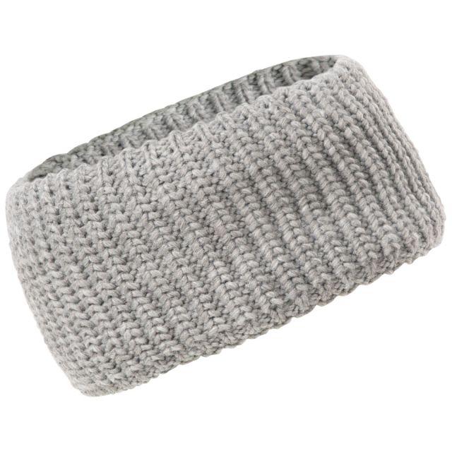 Trespass Adults Headband Microfleece Lined in Dark Grey Marl Coronet