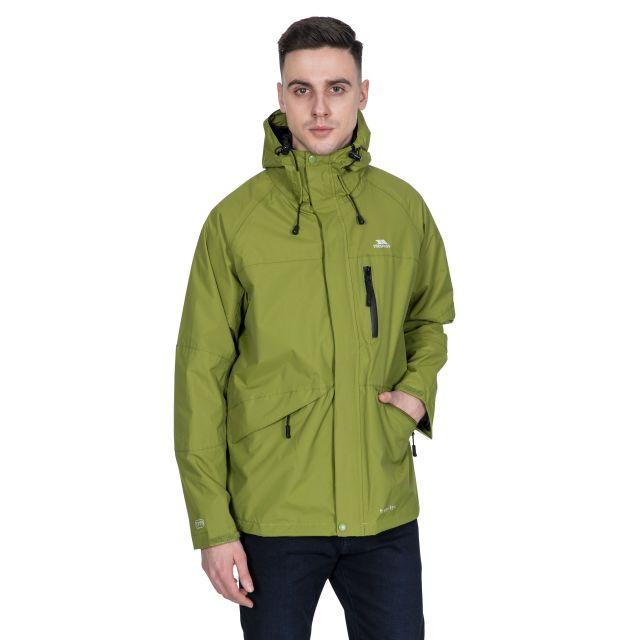 Corvo Men's Waterproof Windproof Jacket in Green